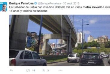 Con Santos y Peñalosa, Bogotá está más lejos del metro que necesita