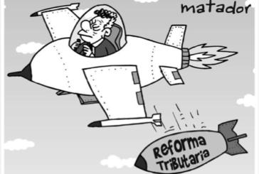 La reforma tributaria de Santos contra las mayorías