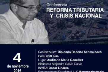 Diputado Roberto Schmalbach en la UIS-Barrancabermeja hablando sobre la nefasta Reforma Tributaria
