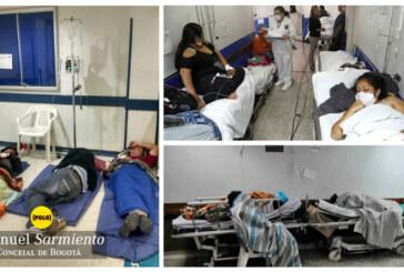 Peñalosa no se cansa de engañar a los bogotanos con cifras del hacinamiento en Hospitales Públicos