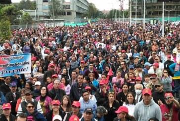 Movilizándonos por el Pliego de Peticiones enfrentamos la contrarreforma educativa y laboral de Santos