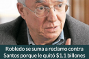 Robledo se suma a reclamo contra Santos porque le quitó $1.1 billones de pesos del sector de ciencia