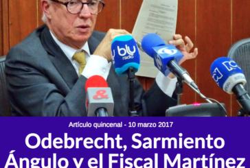 Odebrecht, Sarmiento Ángulo y el Fiscal Martínez