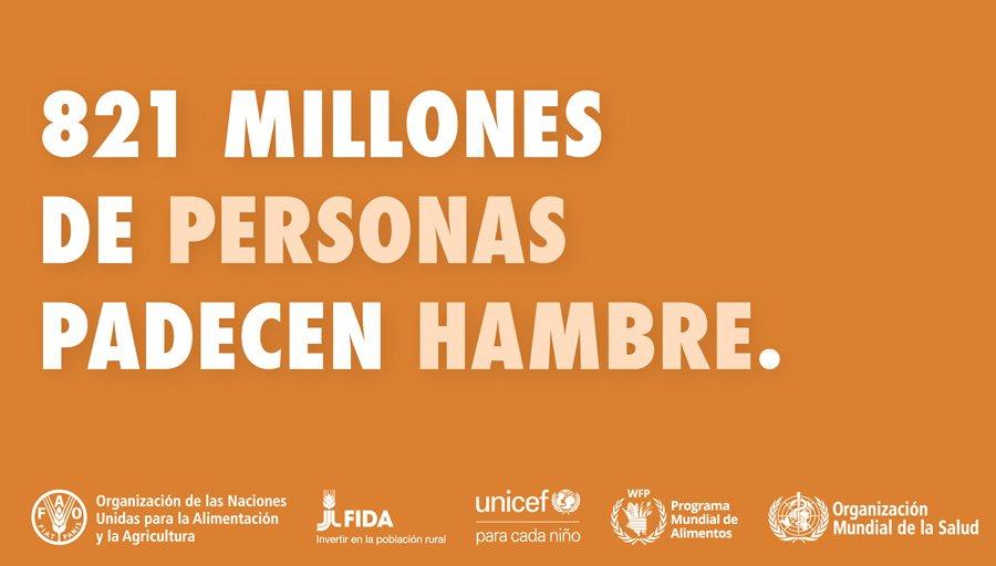 La ONU: 6,38% de los colombianos son hambrientos
